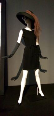 Pop zwarte jurk