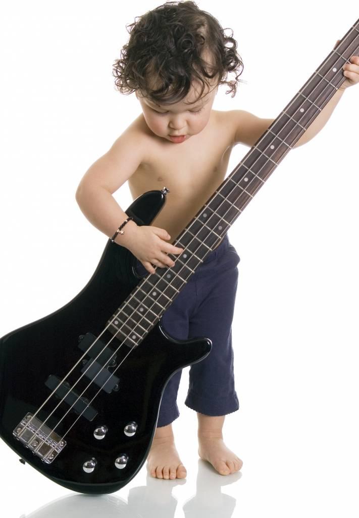 jongen gitaar