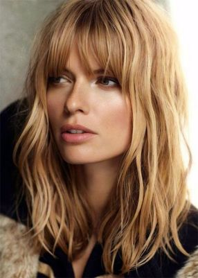 fringe blonde