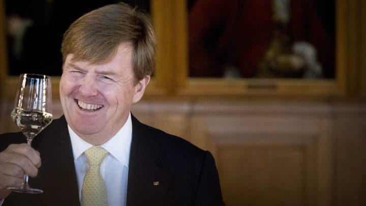Willem-Alexander wijntje.