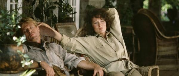 Meryl en Robert resting in chair