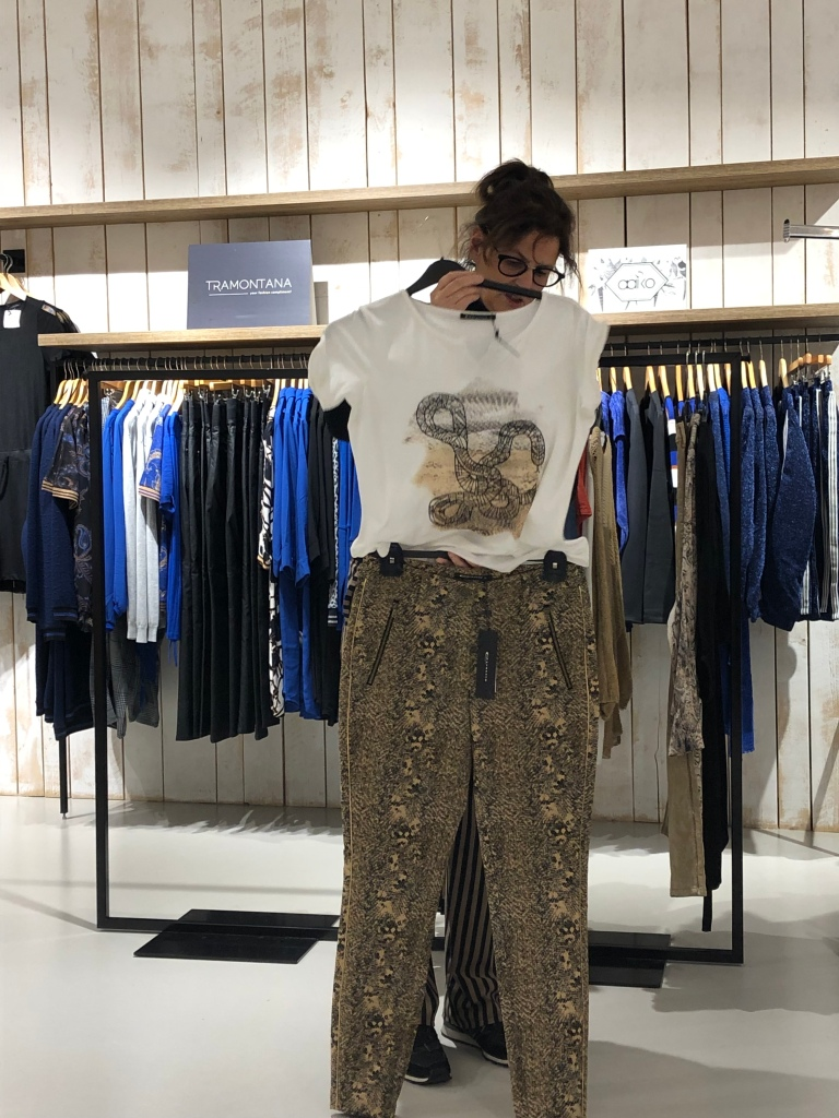 Expresso slangenprint broek en t-shirt