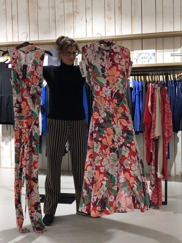 Expresso jumpsuit en jurk in bloemenprint