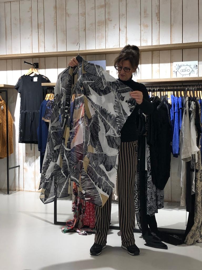 Expresso voile kimono