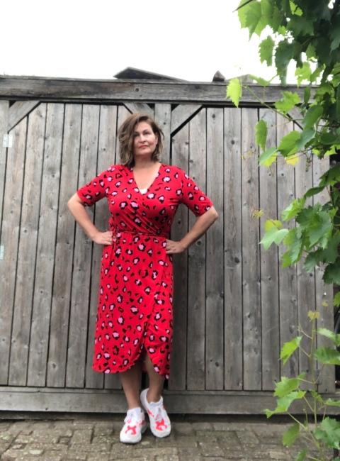 rode jurk freequent