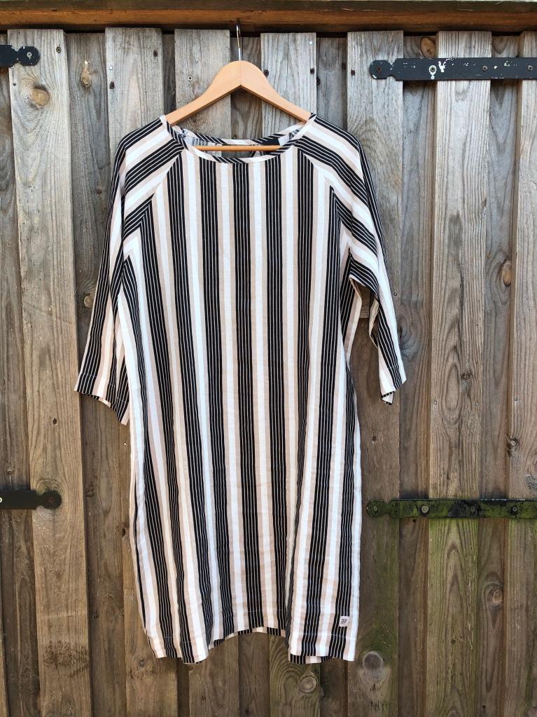 linnen jurk streep Penn&Ink N.Y.