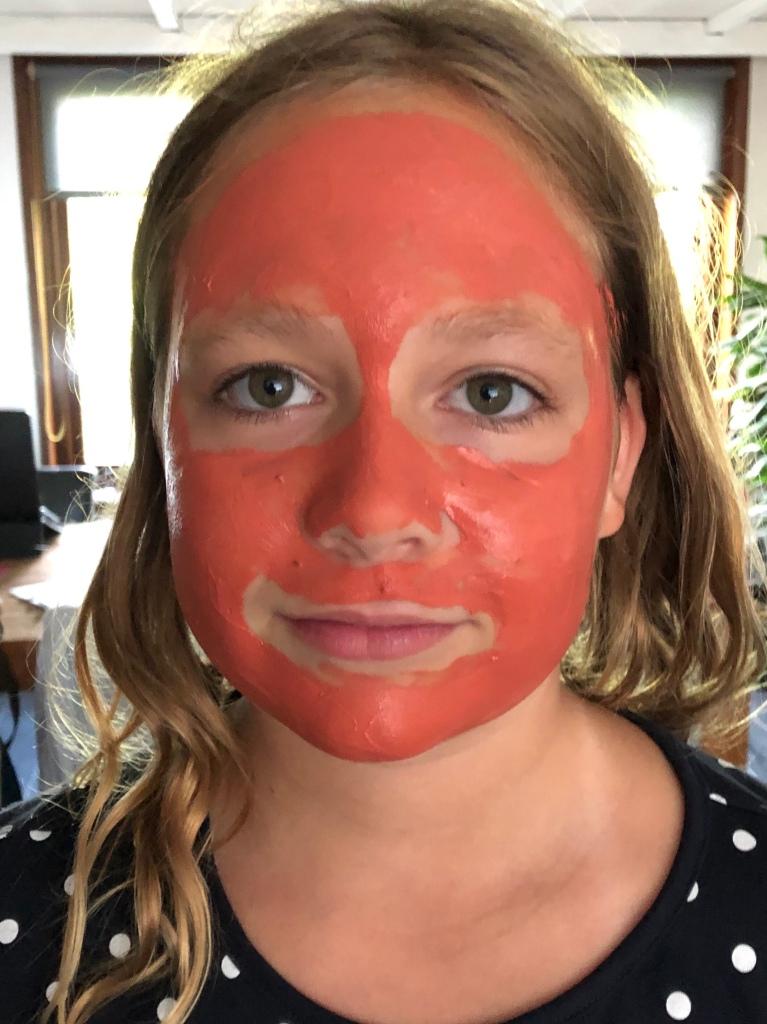 face mask choco clay Evi