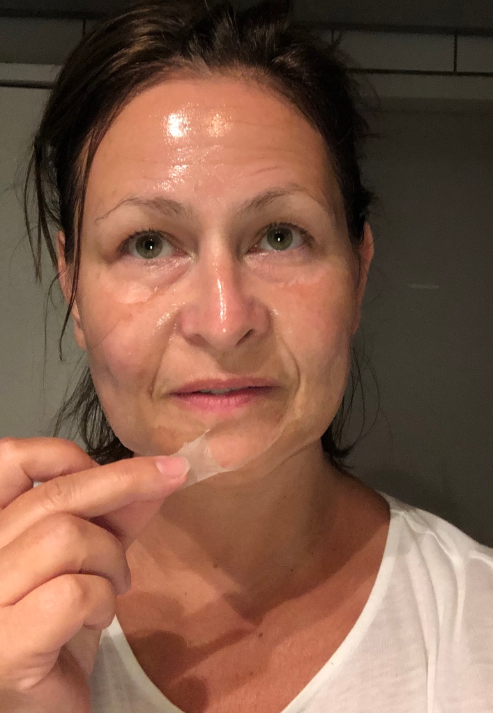 face mask peel off