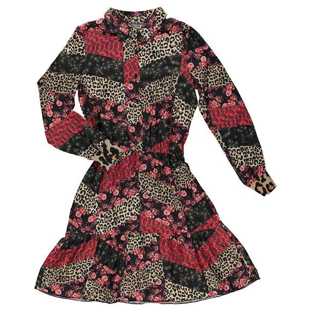 Geisha patchwork jurk