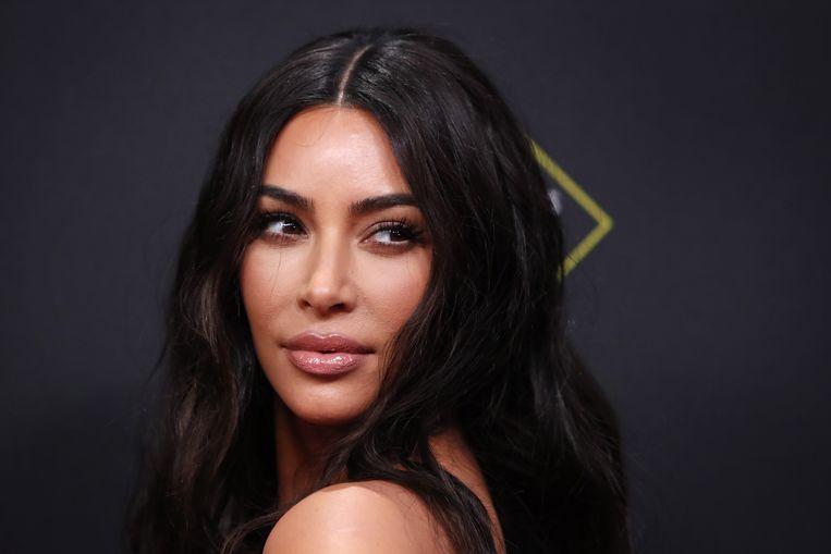 Kim Kardashian hoofd